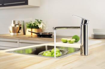 Актуальные тенденции в дизайне кухонных смесителей