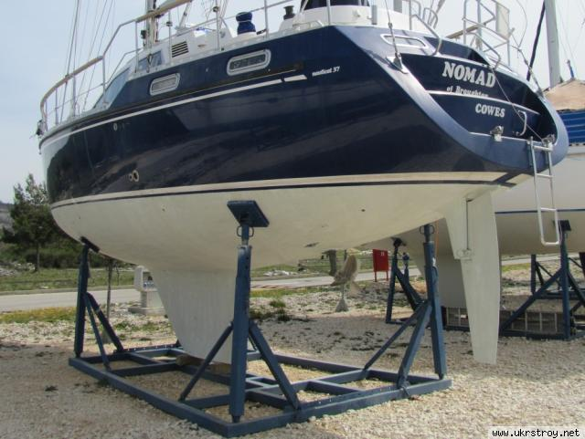 Кильблок для яхты