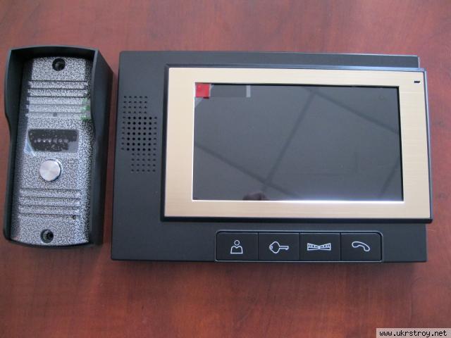 Видеодомофон 7 дюймов цветной BSE-702  комплект, Одесса