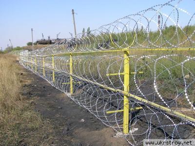 Забор из ЗАКЛЗ Егоза 950х950х600, Киев