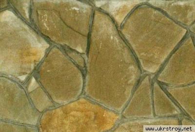 Камень природный плоский 15мм, 20мм, Красный Луч