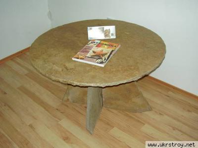 Мебель из камня, Красный Луч