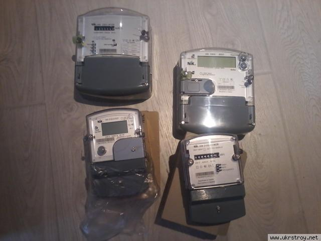 Счетчик электроэнергии НИК 2301 АП1 и АП3, АК1, Киев