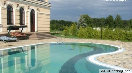 Строительство стационарных бассейнов. Современная, Киев