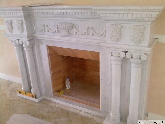 Мраморные камины. Изготовление от 3000 грн., Киево-Святошинский р-н