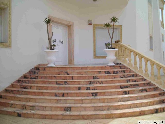 Мраморные и гранитные лестницы. Ступени, балясины, Киево-Святошинский р-н
