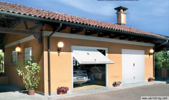 Итальянские гаражные ворота WELCOME PEREGO Dierre, Киев