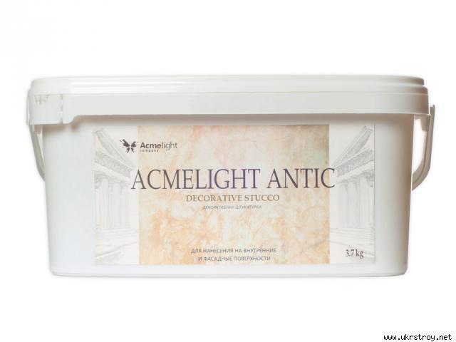 AcmeLight Antic декоративная штукатурка, Кривой Рог