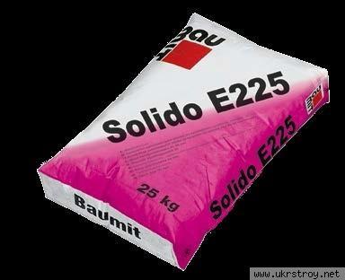 Цементная стяжка Solido (Estrich )E225 ., Киев