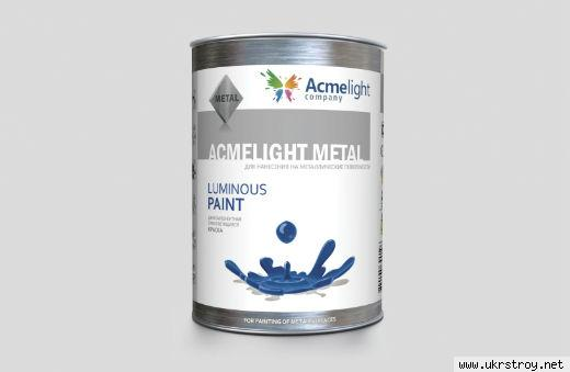 AcmeLight Metal 1л.- для нанесения на металл, Кривой Рог