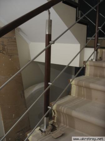 Лестницы,перила, поручни, ограждения из н/ж  стали, Киев