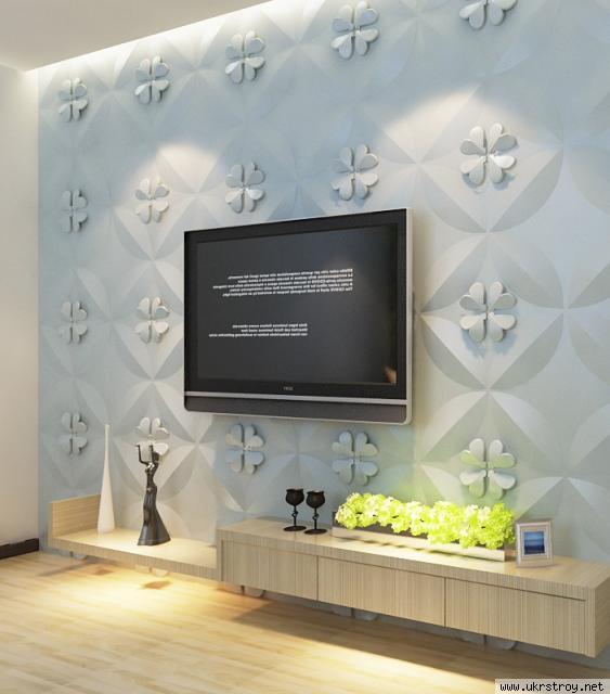 Стеновая 3D панель Jessica из бамбука (300х300 мм), Рогатин