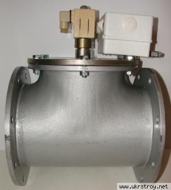 Клапан электромагнитный газовый от производителя, Киев