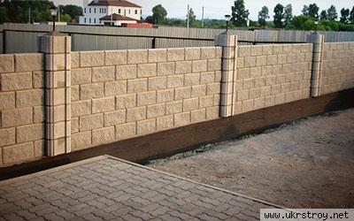 Блок декоративный колотый, Николаев