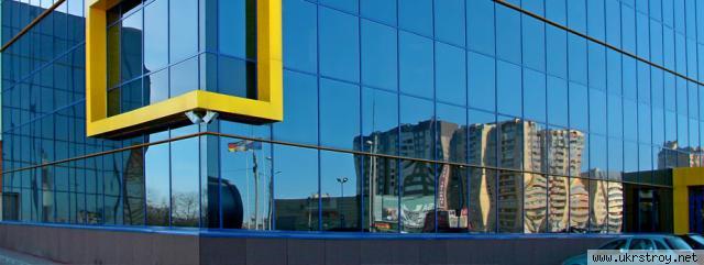 Остекление объектов из алюминиевого профиля, Киев