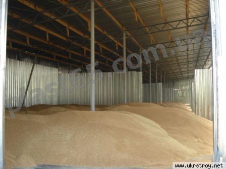 Ангары для хранения зерна, Украина., Киев
