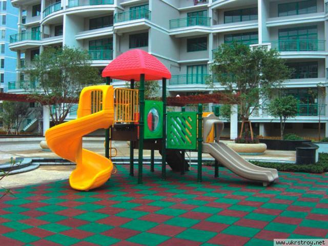 Резиновое покрытие для детских площадок., Бровары