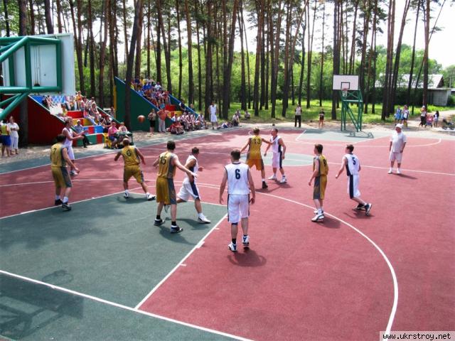Покрытие для открытых спортивных площадок, Бровары