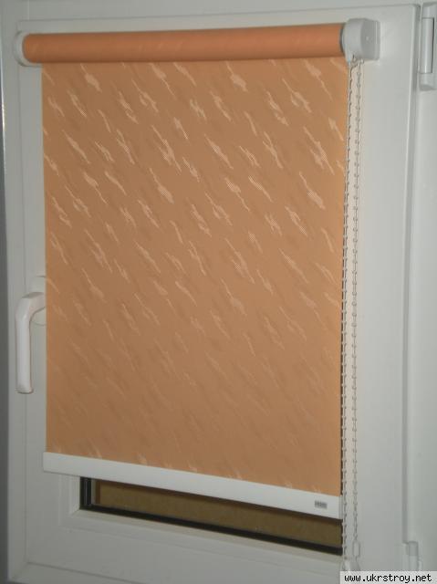 Рулонные шторы системы LUX-32, Запорожье