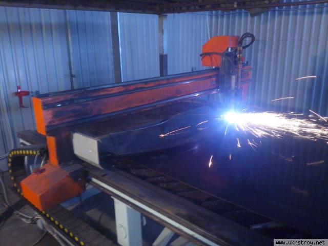 Плазменная порезка металла до 100 мм и изготовлени, Днепропетровск