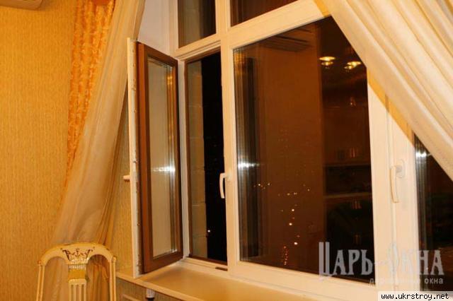 Окна из лиственницы фото