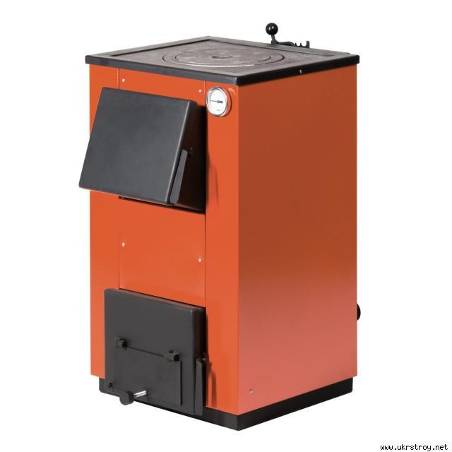 Котел твердотопливный Maxiterm 14 кВт с плитой., Запорожье, Цена 5200 грн, Товары и услуги, Информационный строительный портал У