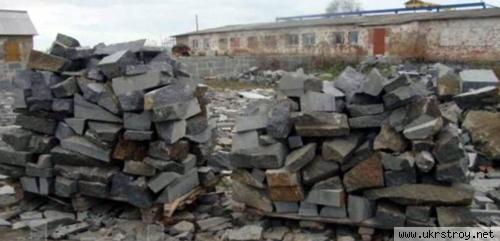 Камень Бутовый (бут), Коростышев
