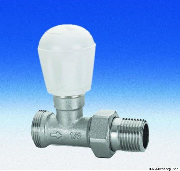 клапан ручной запорный для радиаторов