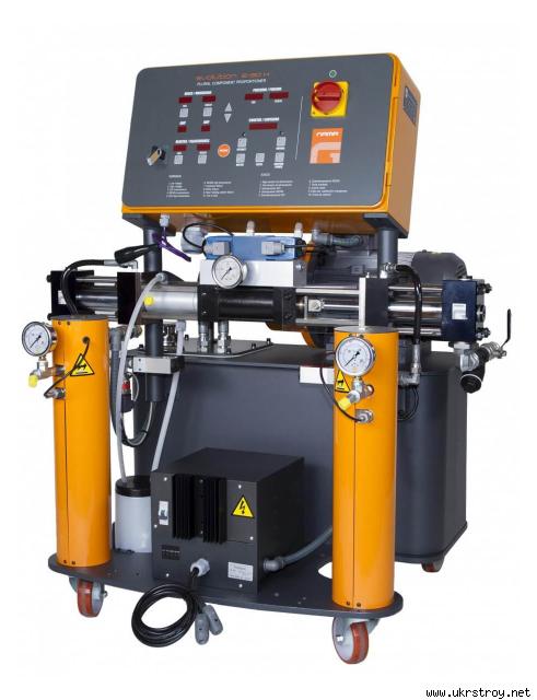 Оборудования для напыления ППУ Evolution G-30H, пгт Лужаны
