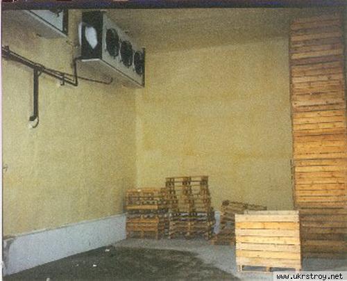 Теплоизоляция холодильных камер, пгт Лужаны