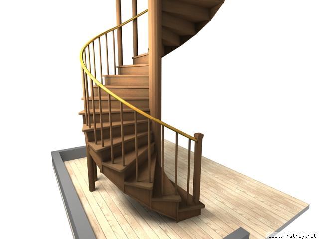 Перила для лестницы из дерева: варианты изготовления