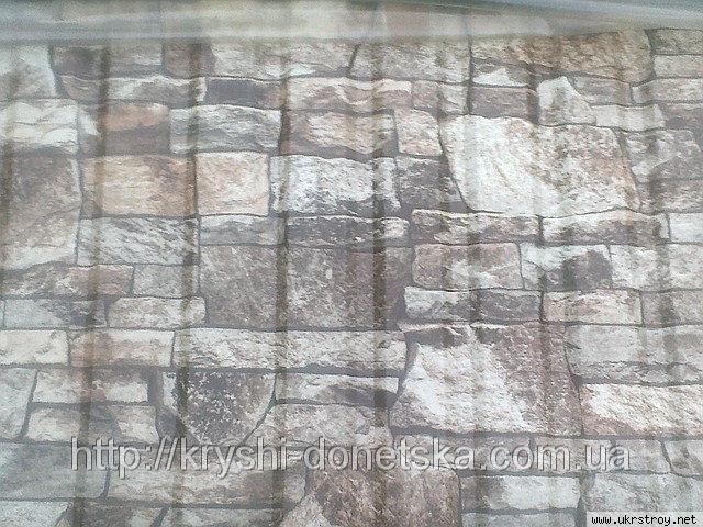 Профнастил с фактурой камня, Донецк