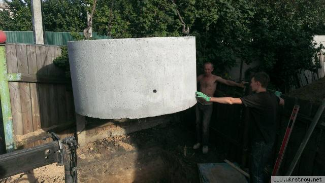Септик из бетонных колец Ирпень, Буча, Вишневое., Киев