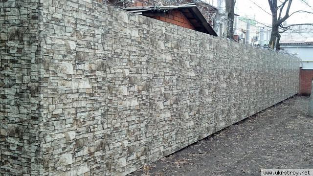 Гладкий лист с фактурой камня, Донецк